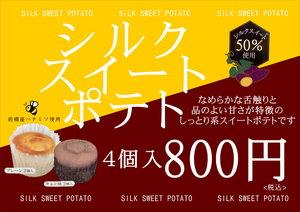 シルクスイートポテト チョコ味♪